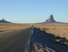 28 Silnice do Monument Valley