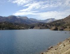 94 Yosemite Jezero v Tiazskem prusmyku
