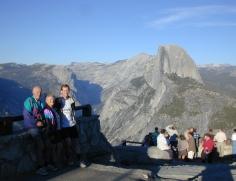 107 Yosemite Glacier point Skupinove foto