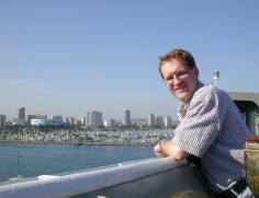 Jan at Queen Mary 2