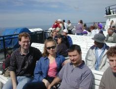 MV Group on Ferry 1