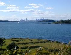 Boston z Fort Warren
