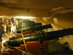 Kanony USS Constitution