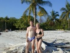 FLdh Na plazi ve Fort Myers Beach