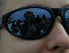 MV Reflection in Glasses