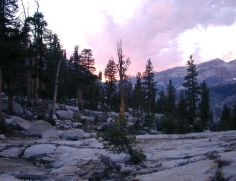 Sunset at Emerald Lake 2