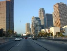 LA downtown hwy